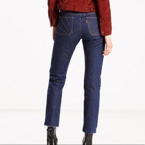 Levi's orange tab jeans 27
